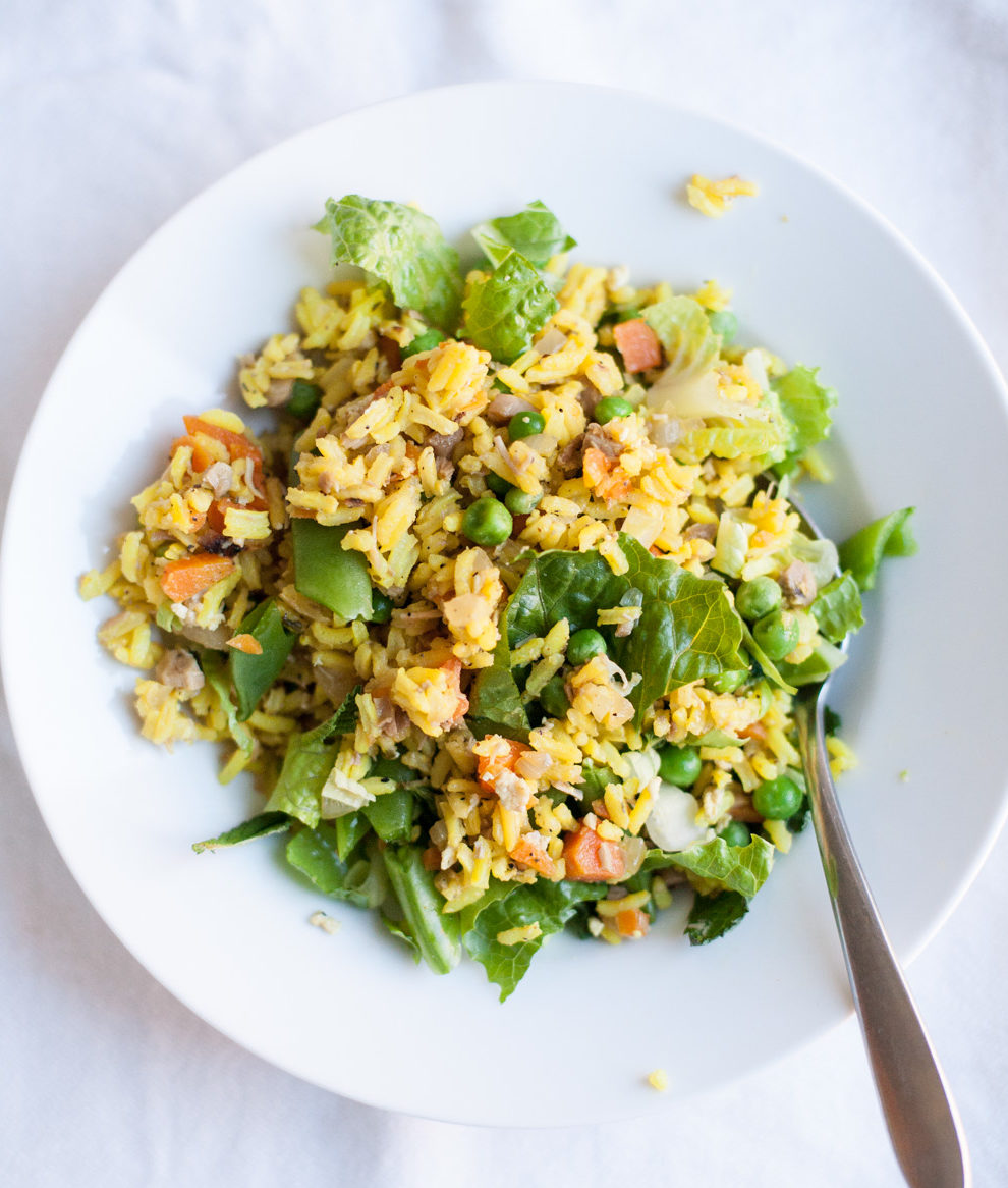 budget friendly easy fried rice