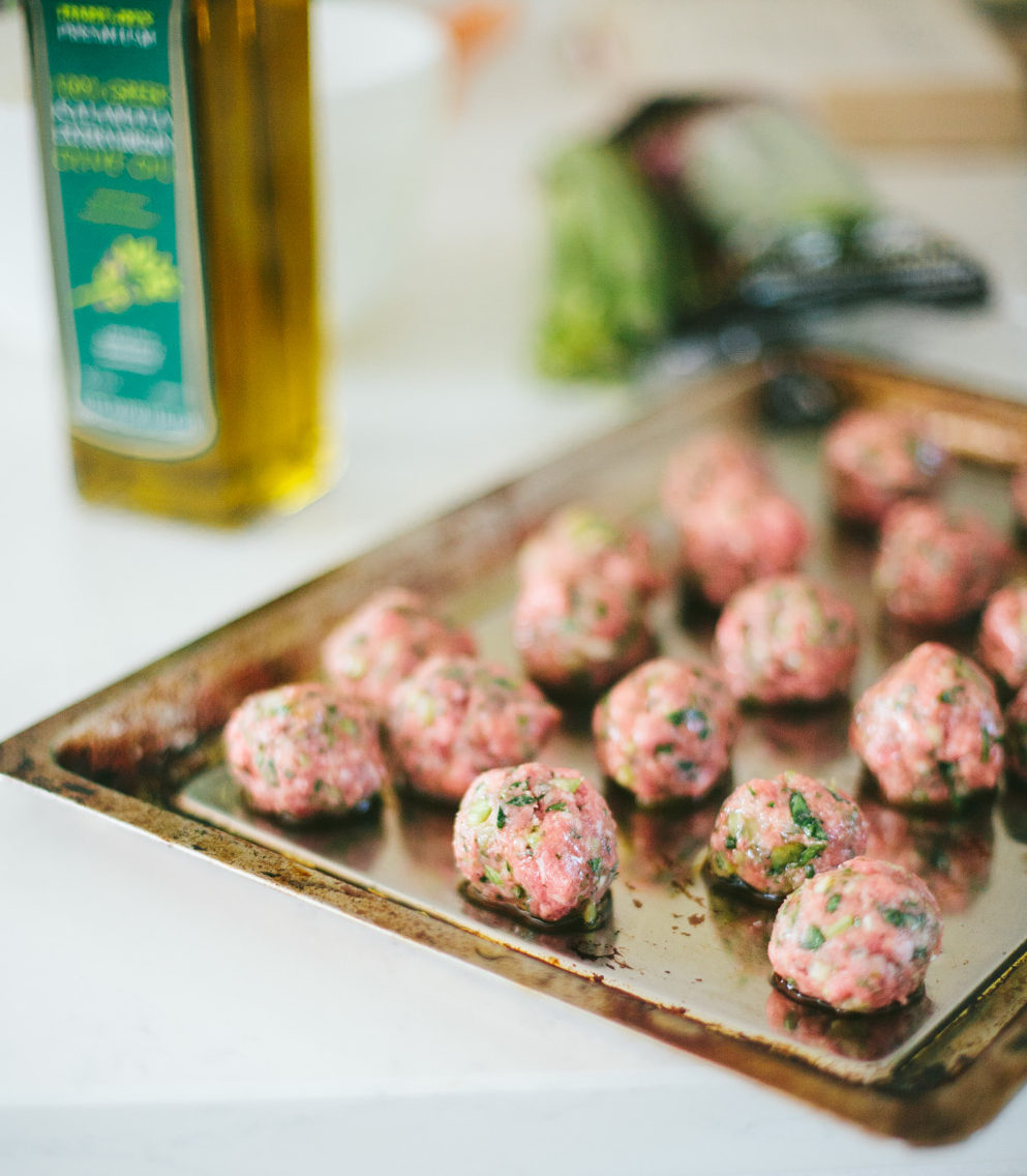 How to make gluten-free meatballs and never miss the breadcrumbs // Go Eat Your Bread with Joy