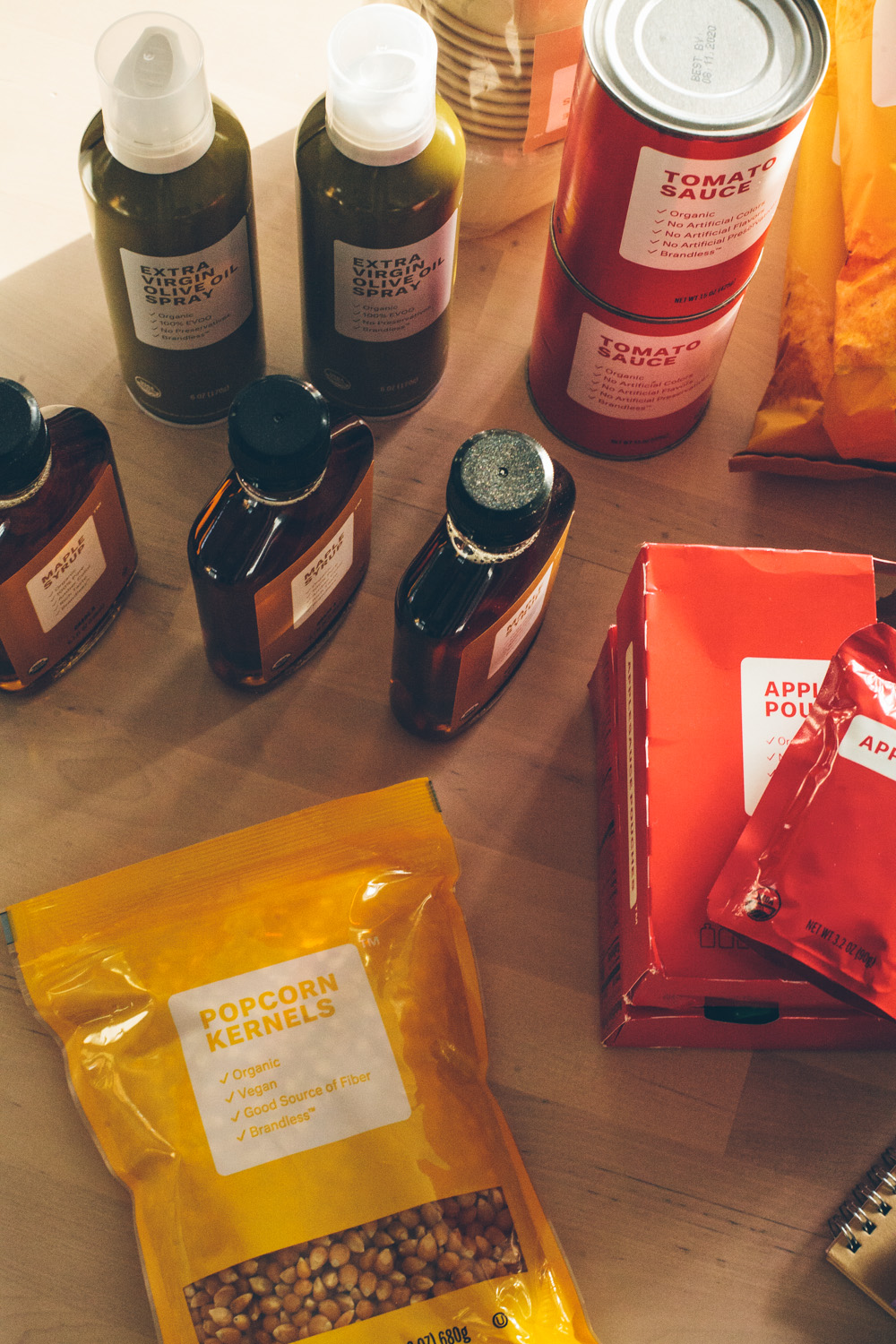 A fresh review on Brandless, the $3 online grocery with organic essentials. #realfood #budget #organic