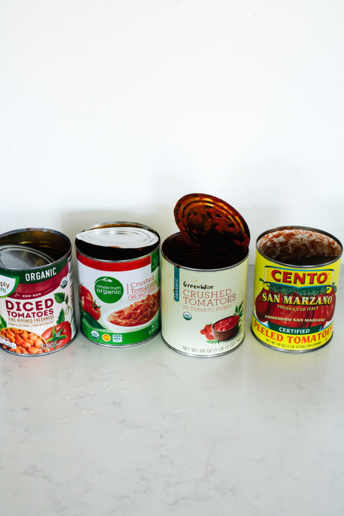 Canned Tomato Taste Test in Sauce  / Go Eat Your Bread with Joy